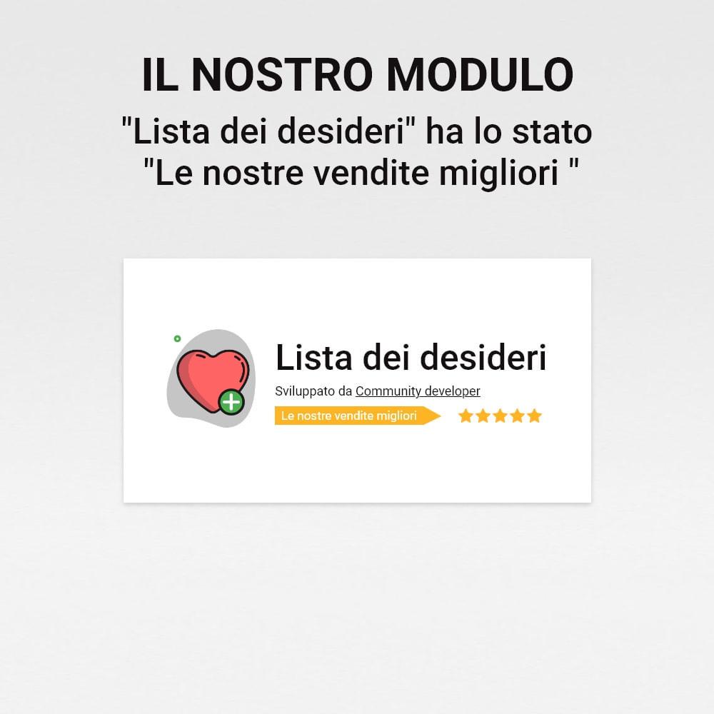 module - Whishlist & Gift Card - Lista dei desideri - 10