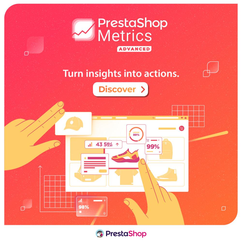 module - Análises & Estatísticas - PrestaShop Metrics - 6