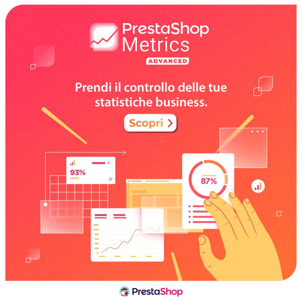module - Analytics & Statistiche - PrestaShop Metrics - 4