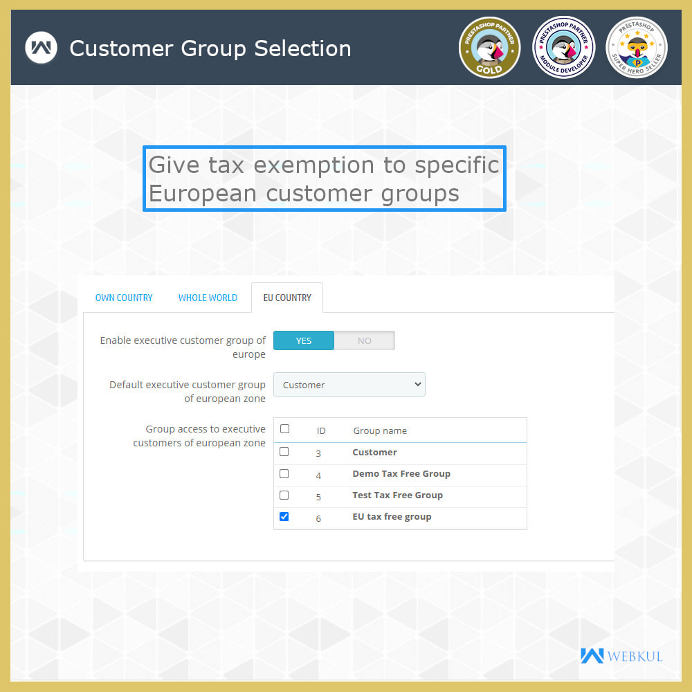 module - Accounting & Invoicing - B2B Invoicing   Tax Exemption For Business Customers - 7
