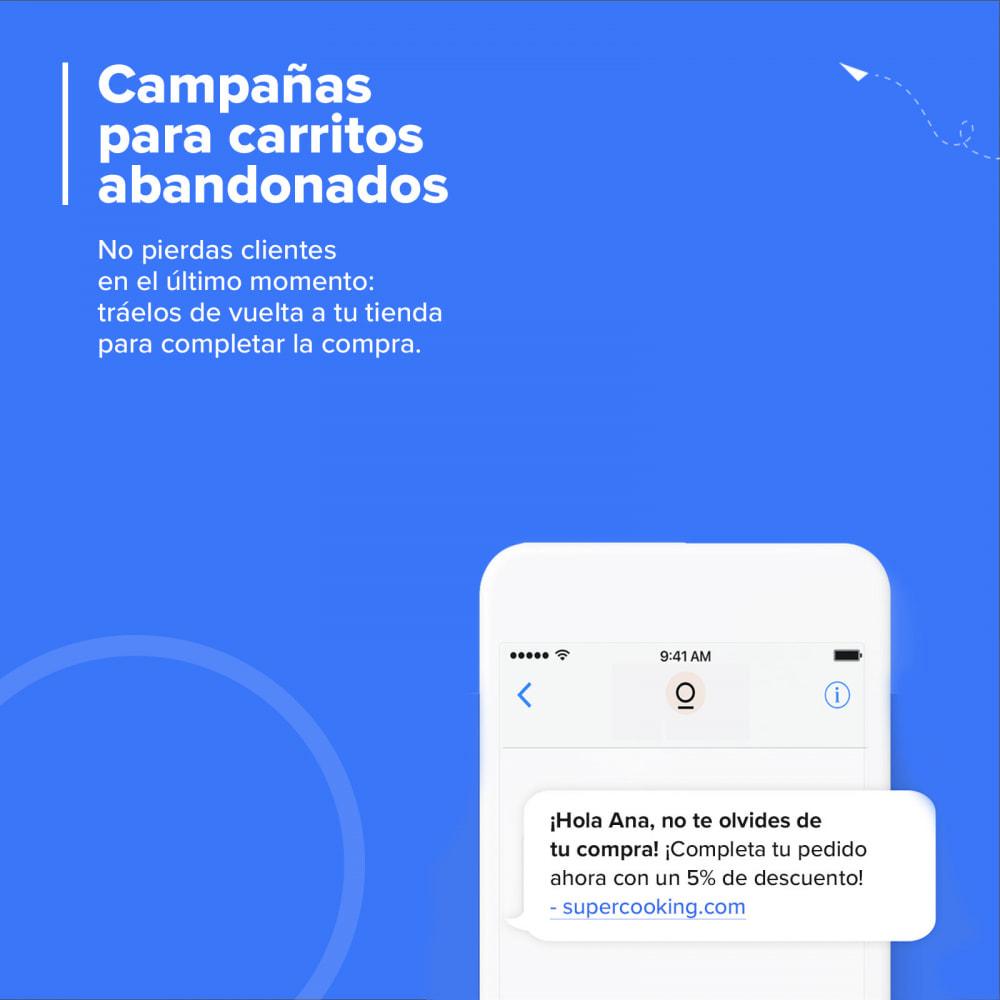 module - Remarketing y Carritos abandonados - Carts Guru | SMS, email y Facebook messenger marketing - 1