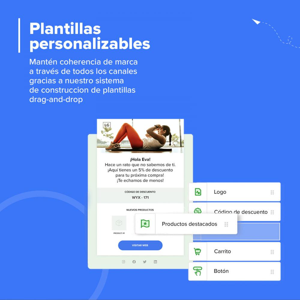 module - Remarketing y Carritos abandonados - Carts Guru | SMS, email y Facebook messenger marketing - 6