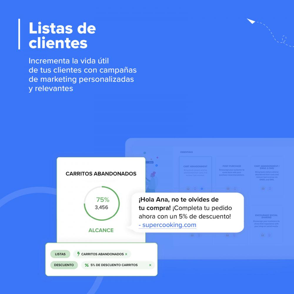 module - Remarketing y Carritos abandonados - Carts Guru | SMS, email y Facebook messenger marketing - 8
