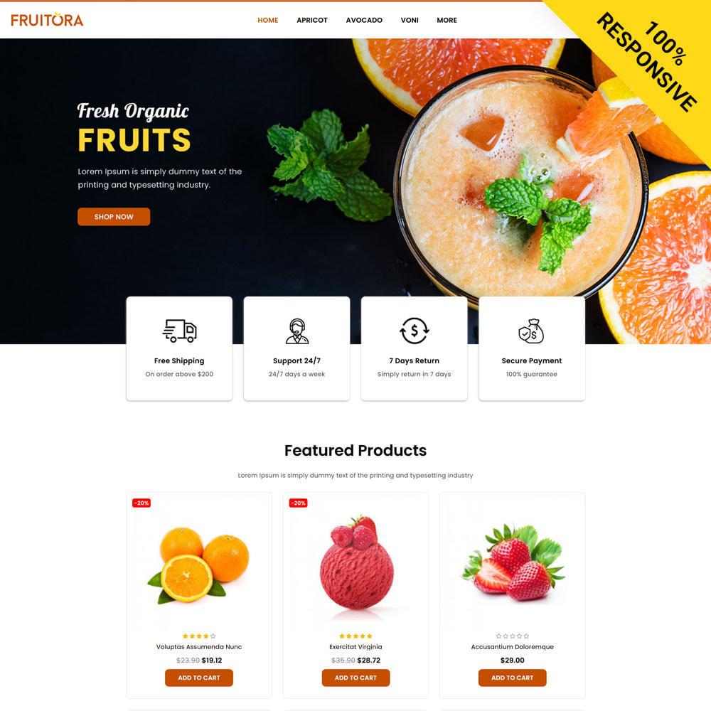theme - Food & Restaurant - Fruitora - Fruit Shop - 1