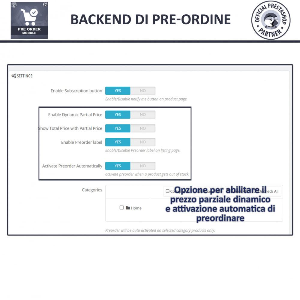 module - Iscrizione e Processo di ordinazione - Pre-Order - Advance Booking | Out of Stock Selling - 13
