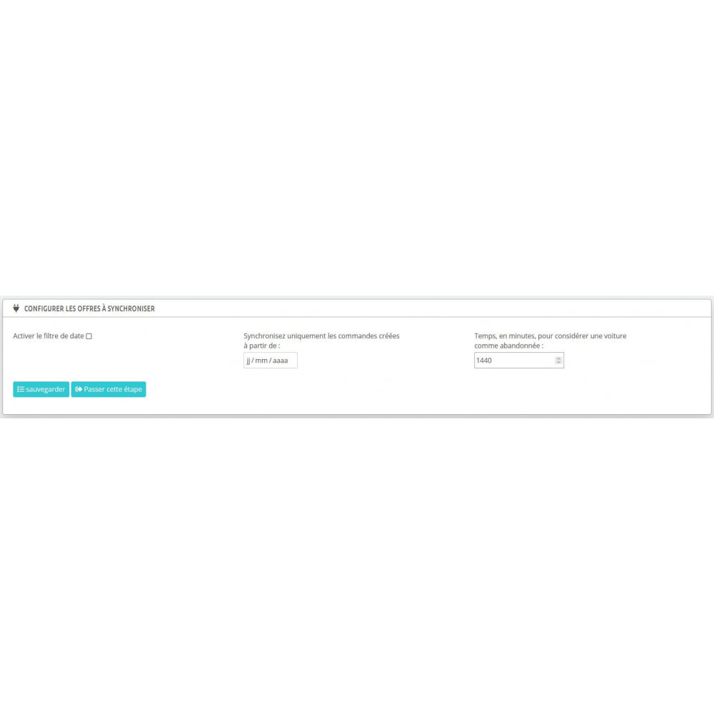 module - Remarketing & Paniers Abandonnés - Intégration du commerce électronique HubSpot - 8