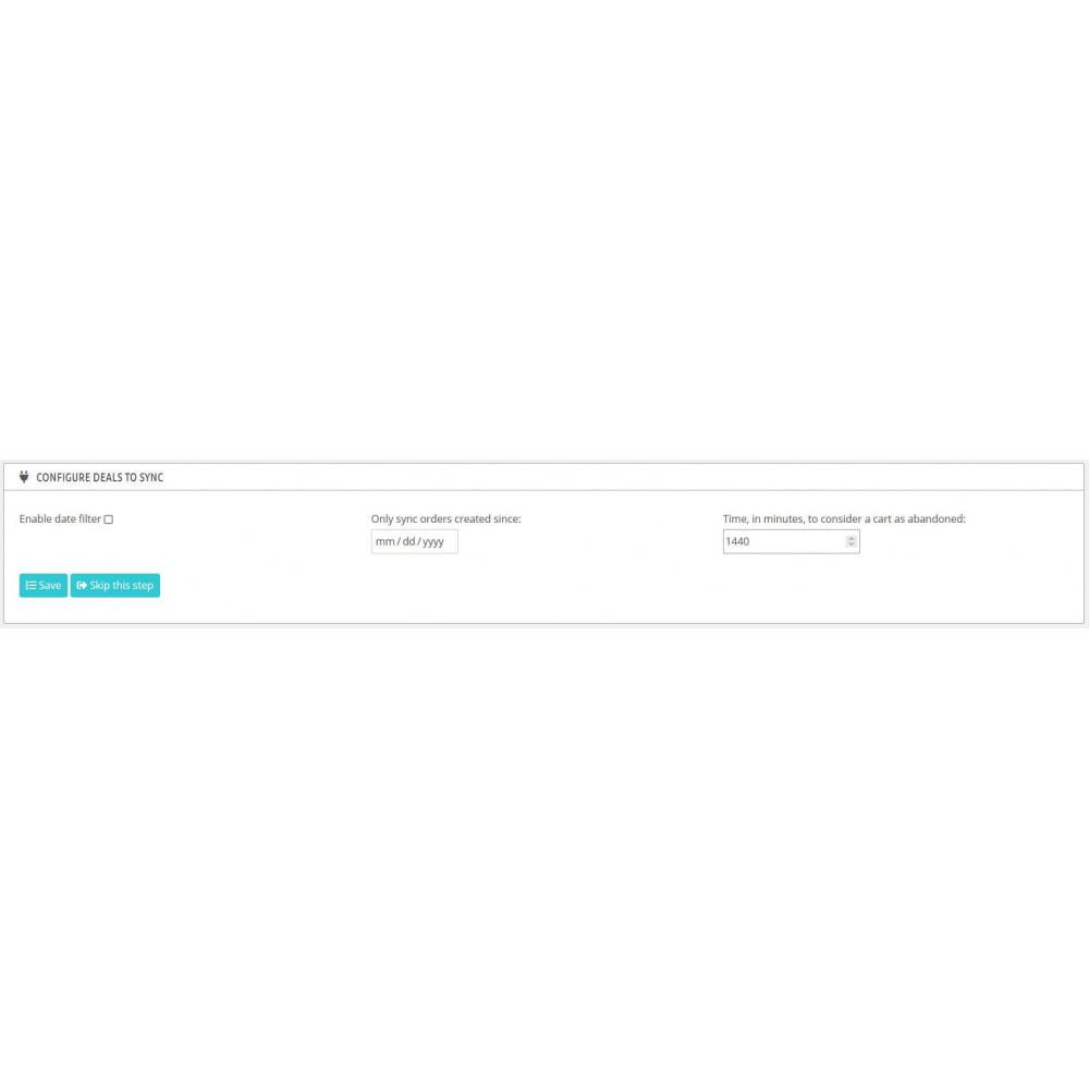 module - Remarketing y Carritos abandonados - HubSpot Integración ecommerce - 8