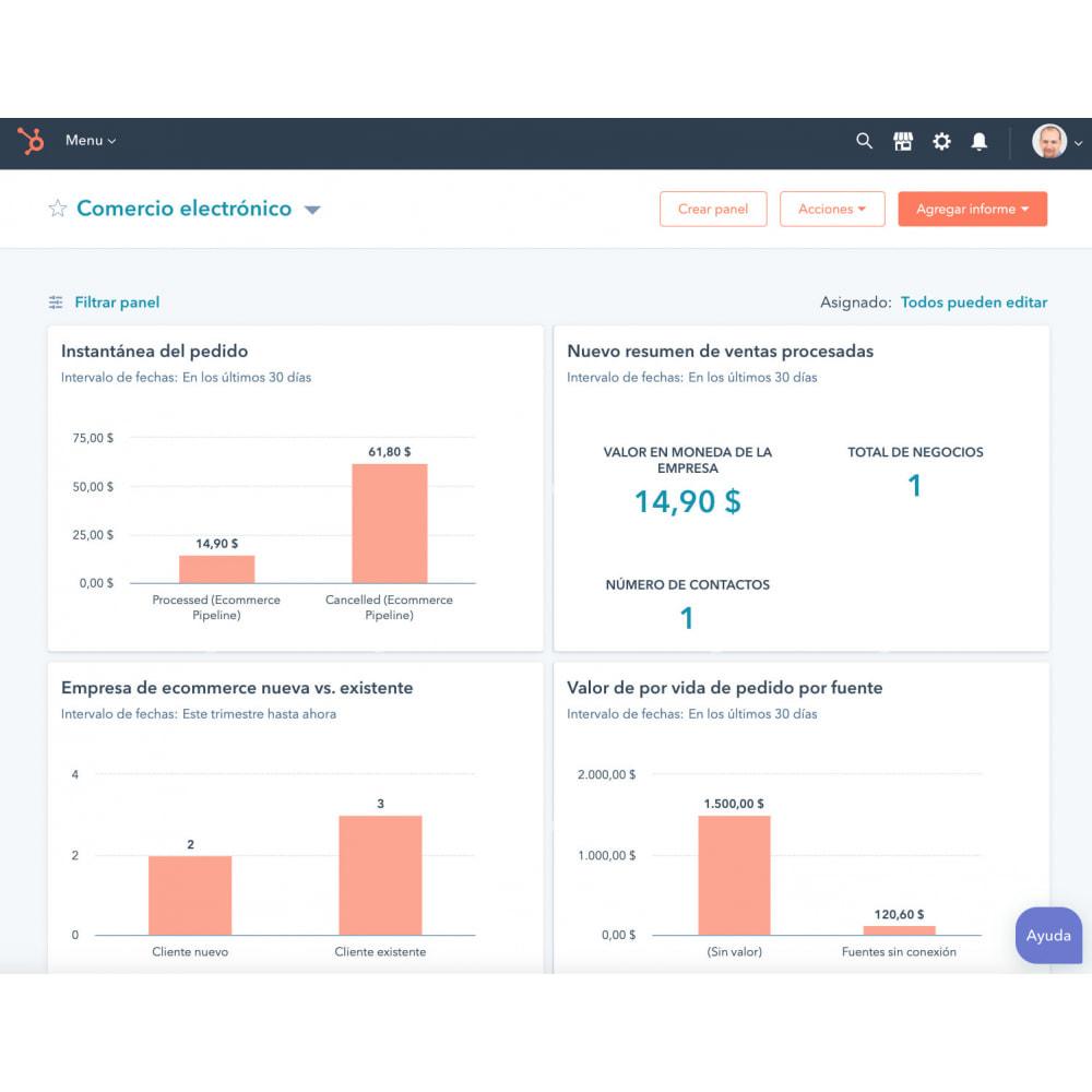 module - Remarketing & Warenkorbabbrüche - E-Commerce Integration von HubSpot - 1
