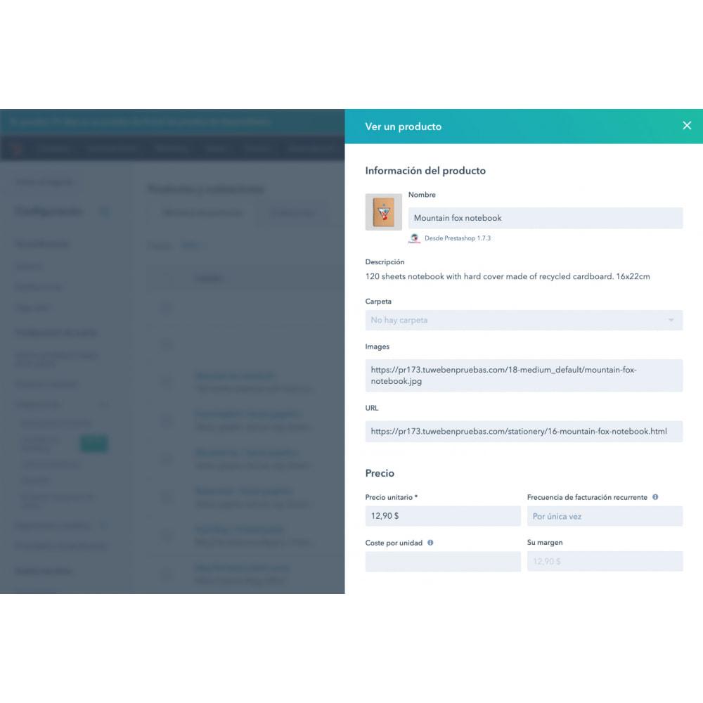module - Remarketing & Achtergelaten winkelmanden - HubSpot e-handelsintegration - 9