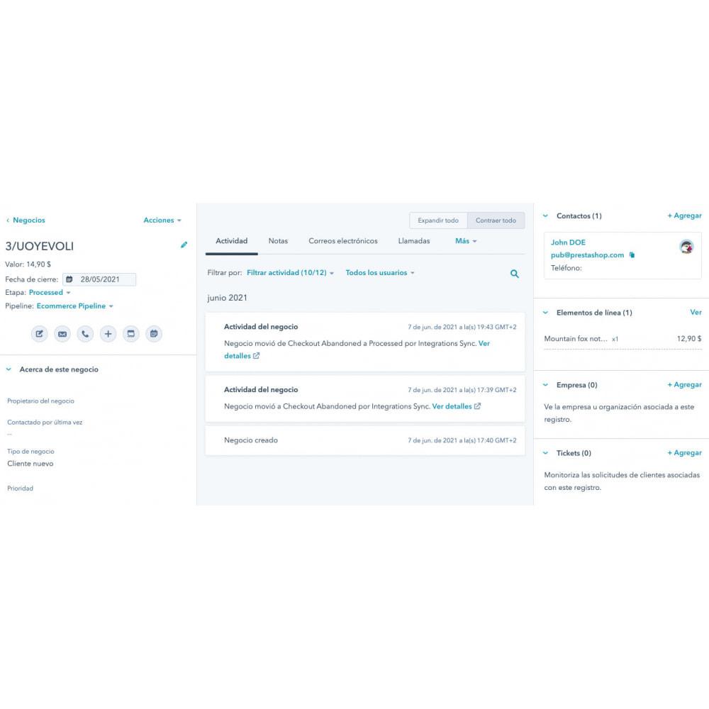 module - Remarketing & Opuszczone koszyki - Integracja e-commerce HubSpot - 11