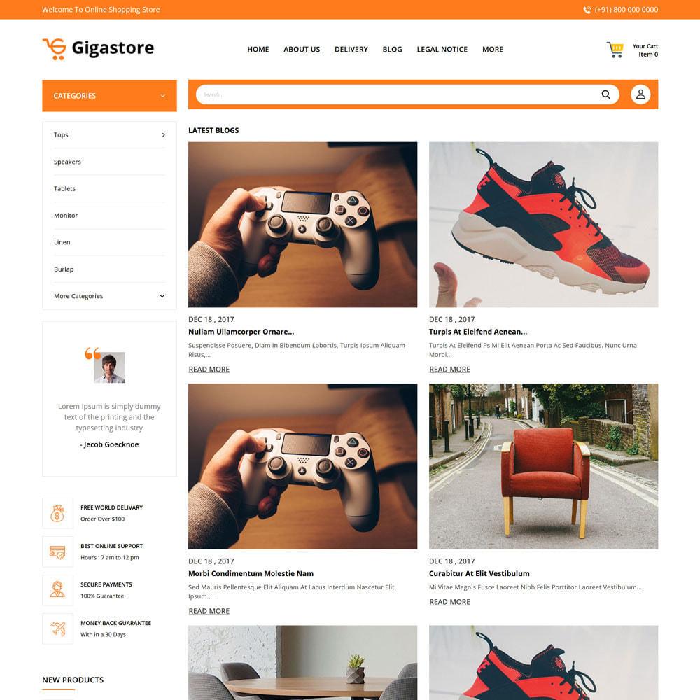 theme - Fashion & Shoes - Gigastore - Mega Store - 6