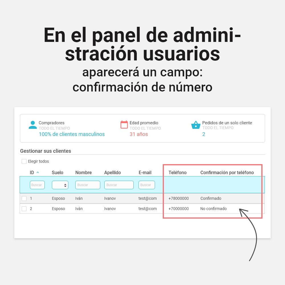 module - Botones de inicio de Sesión/Conexión - Inicio de sesión y registro por número de teléfono - 5