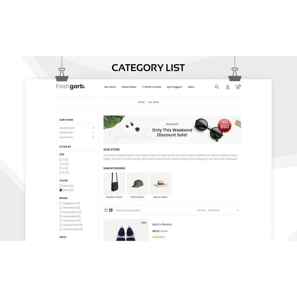theme - Fashion & Shoes - Fashgarb - The Ultimate Fastion Store - 5