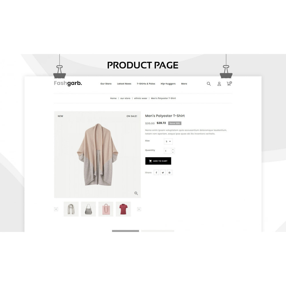 theme - Fashion & Shoes - Fashgarb - The Ultimate Fastion Store - 6