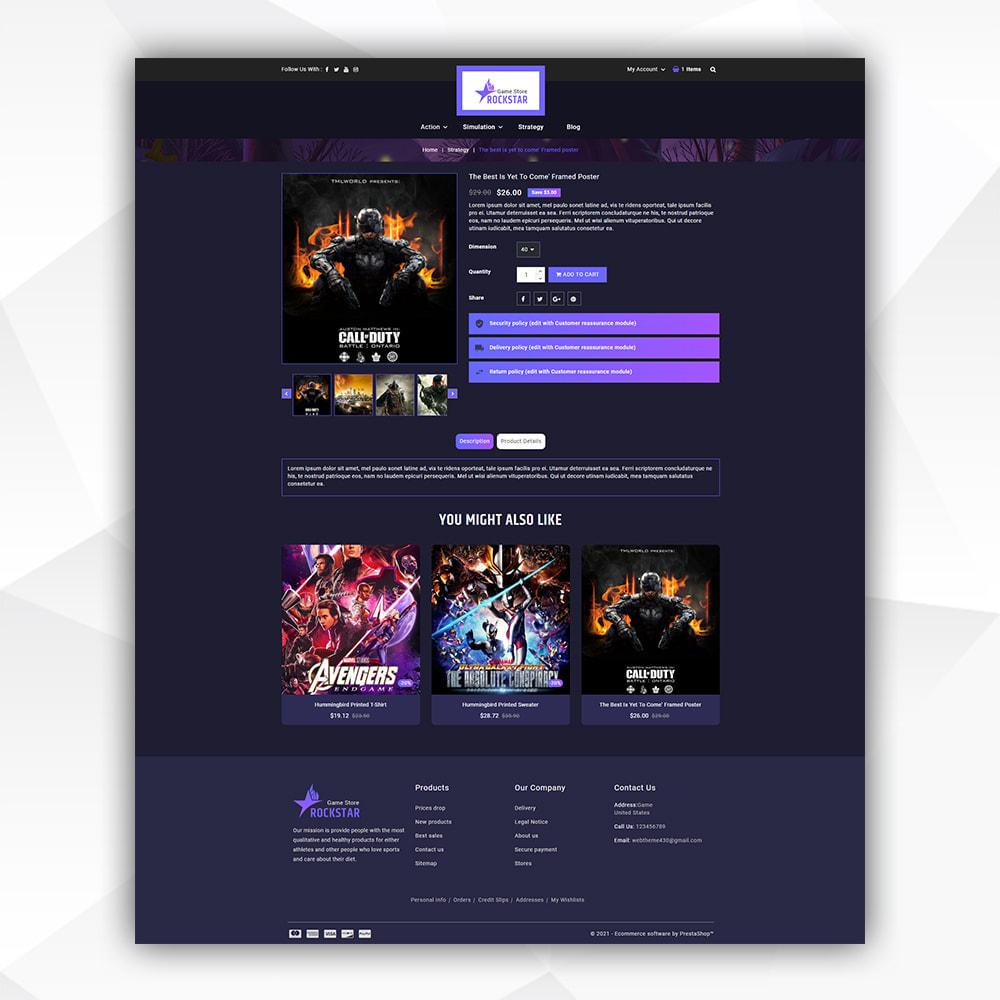 theme - Art & Culture - Rock Star - Game Store - 5