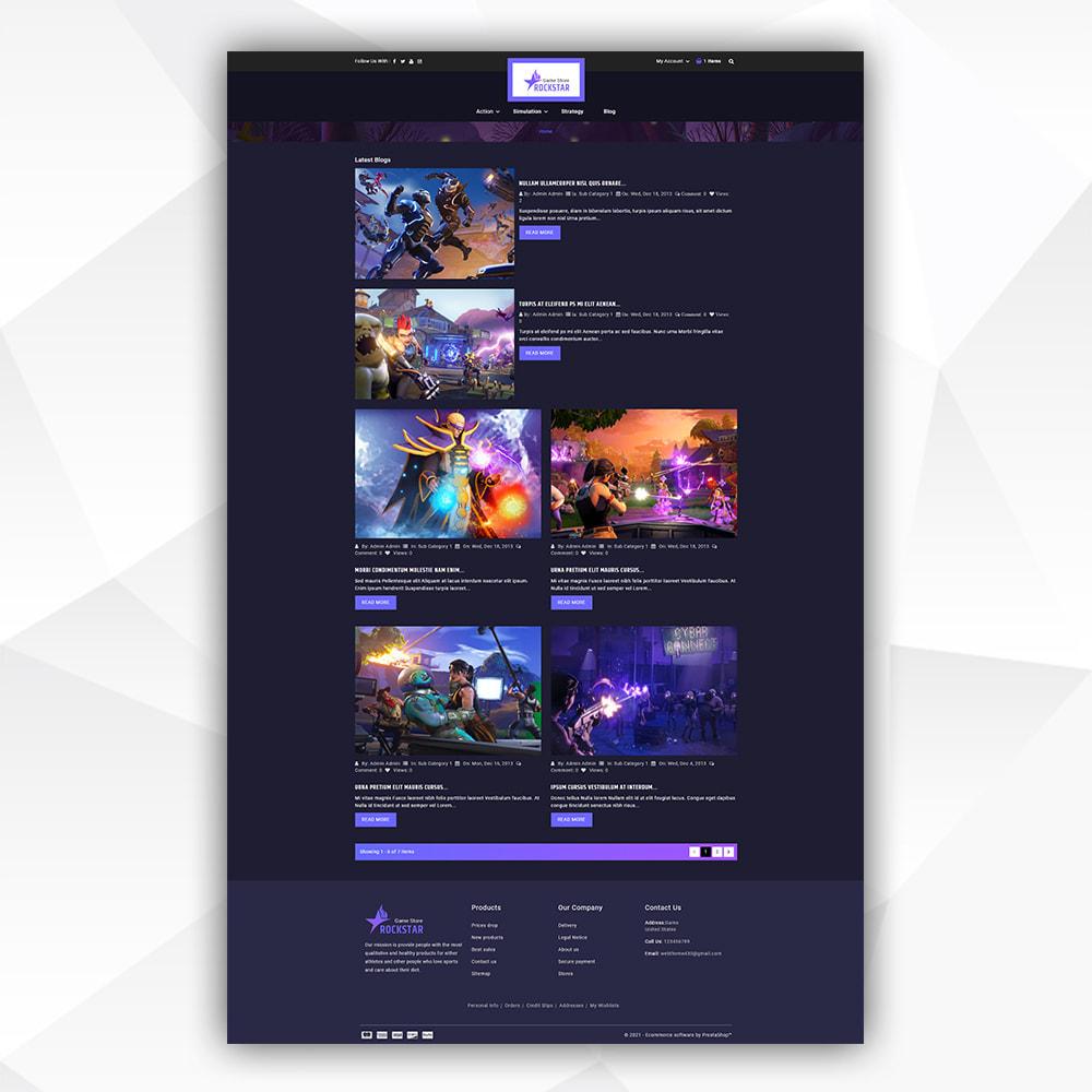 theme - Art & Culture - Rock Star - Game Store - 8