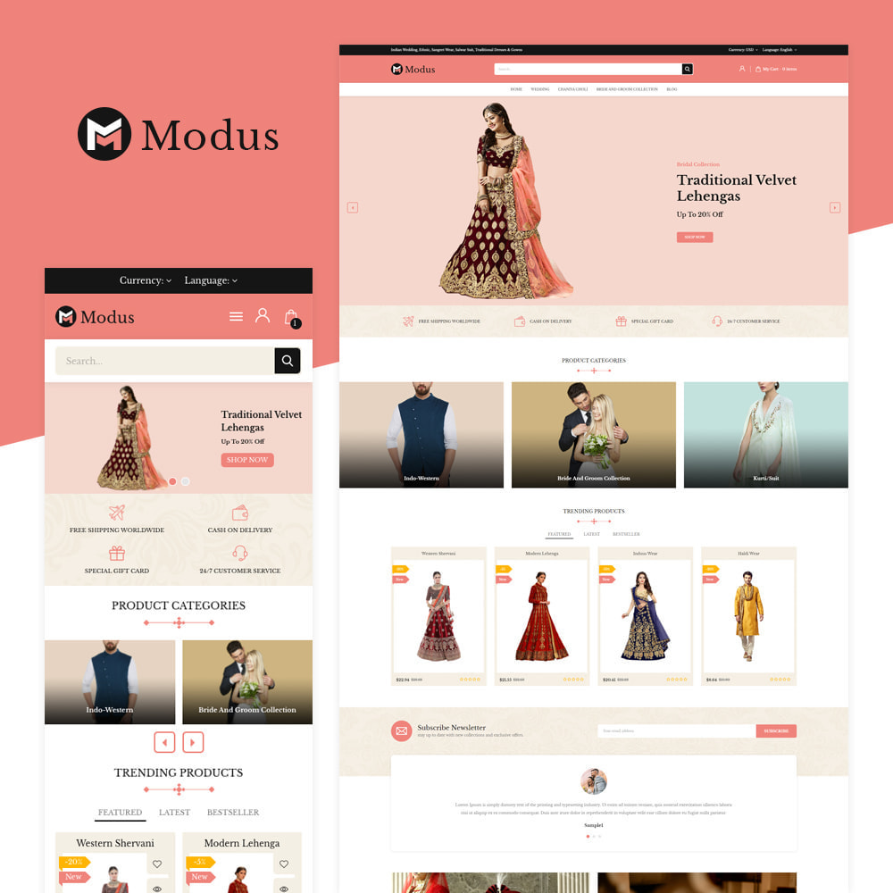 theme - Fashion & Shoes - Modus Fashion Store - 1