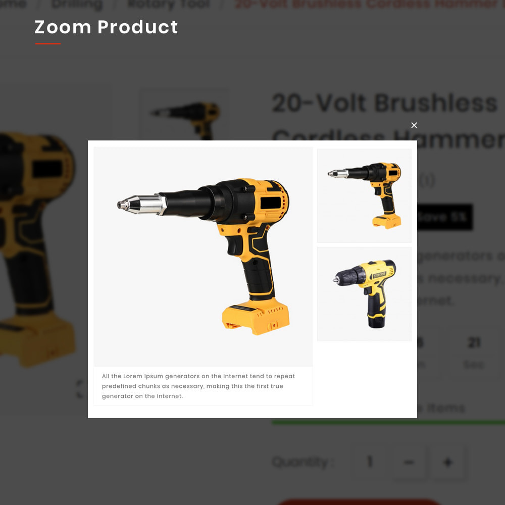theme - Automotive & Cars - Drilling Mega SparePart–Car and Machine–Tools Store - 8