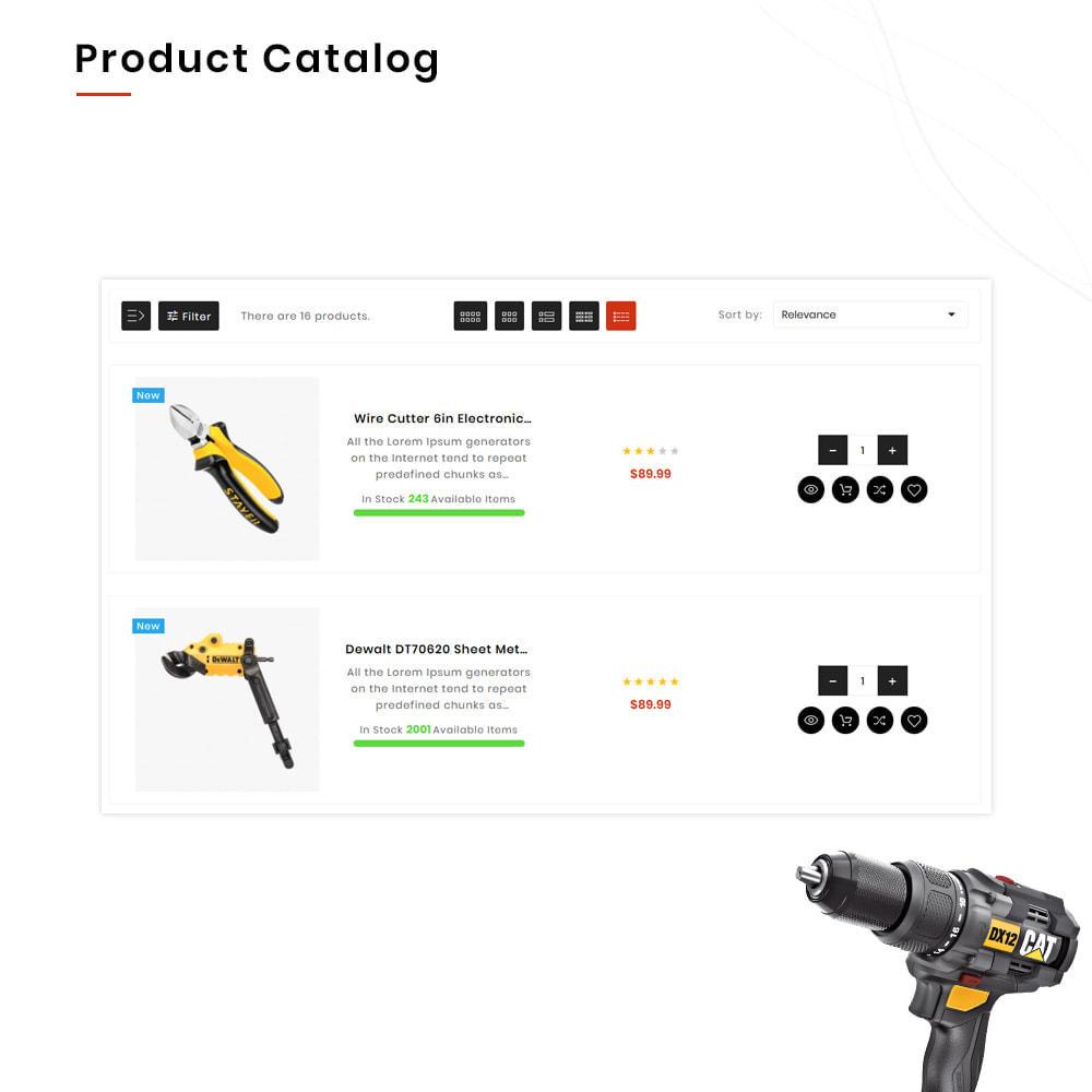 theme - Automotive & Cars - Drilling Mega SparePart–Car and Machine–Tools Store - 12