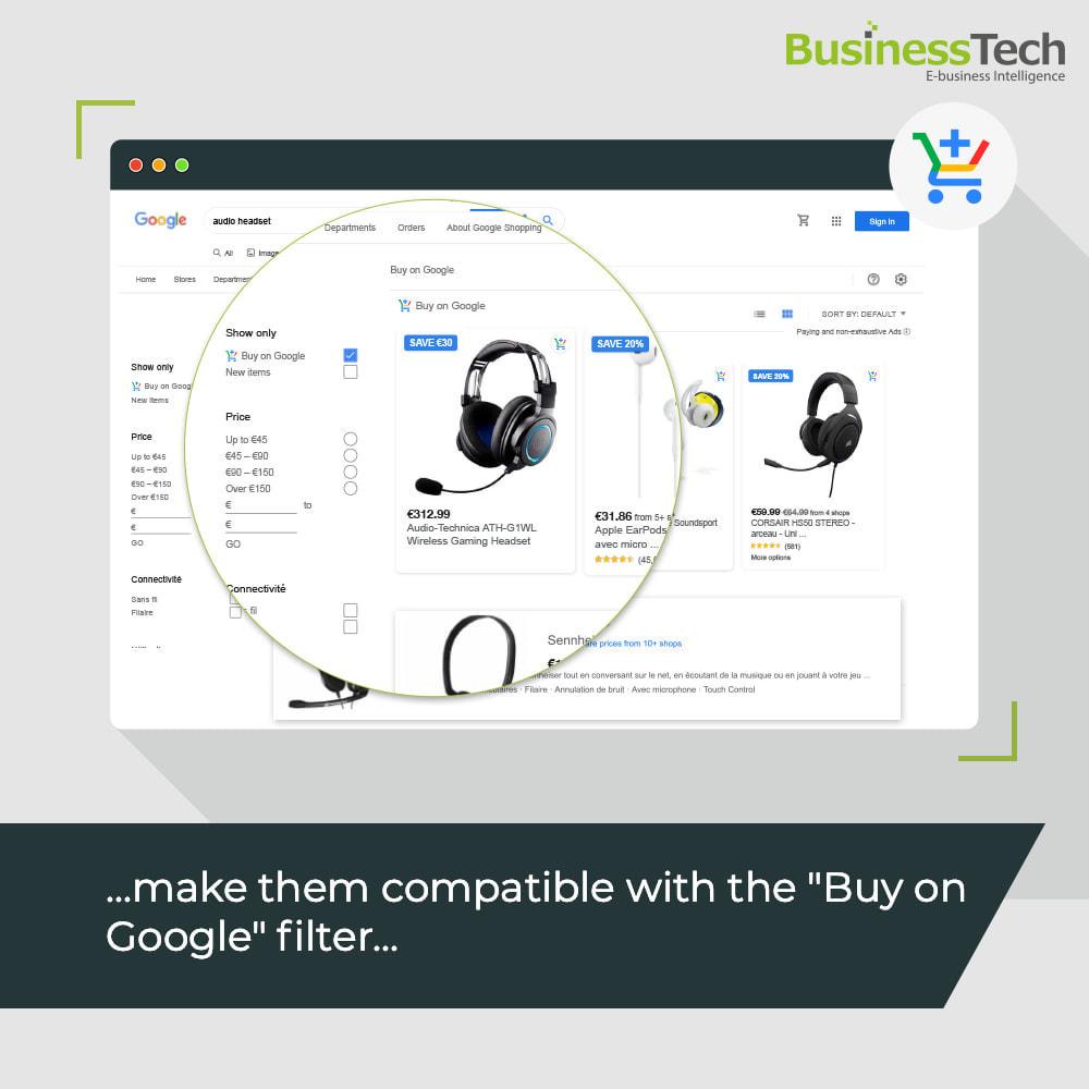 module - Comparadores de Precios - Google Merchant Center (Google-Shopping) - 2