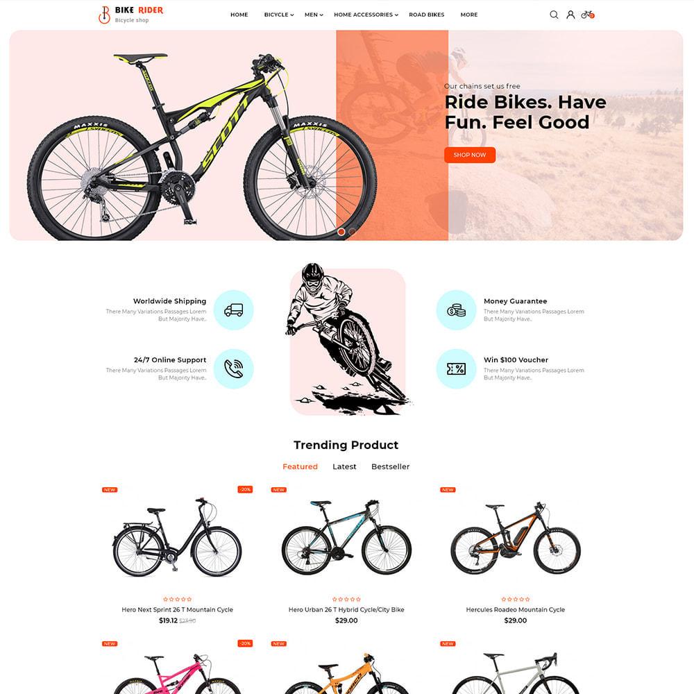 theme - Desporto, Actividades & Viagens - Bike Ryder - Bike Shop & Bicycle Rental Shop - 2