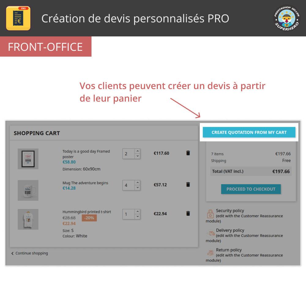 module - Devis - Création de devis personnalisés PRO - 1