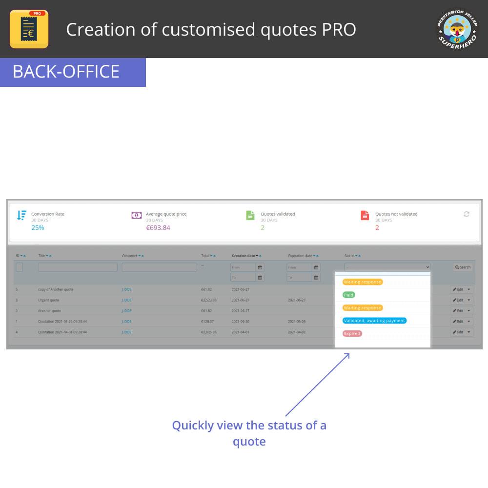 module - Расчет цены - Creation of customised quotes PRO - 4