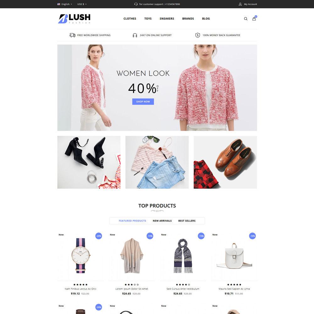 theme - Fashion & Shoes - Blush - Fashion Store - 1