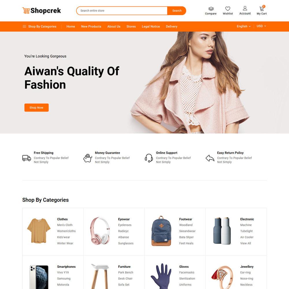 theme - Electronics & Computers - Shopcrek Mega Store - 2