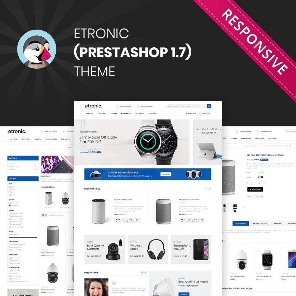 theme - Electrónica e High Tech - Etronic - La Mega Tienda Electrónica - 2