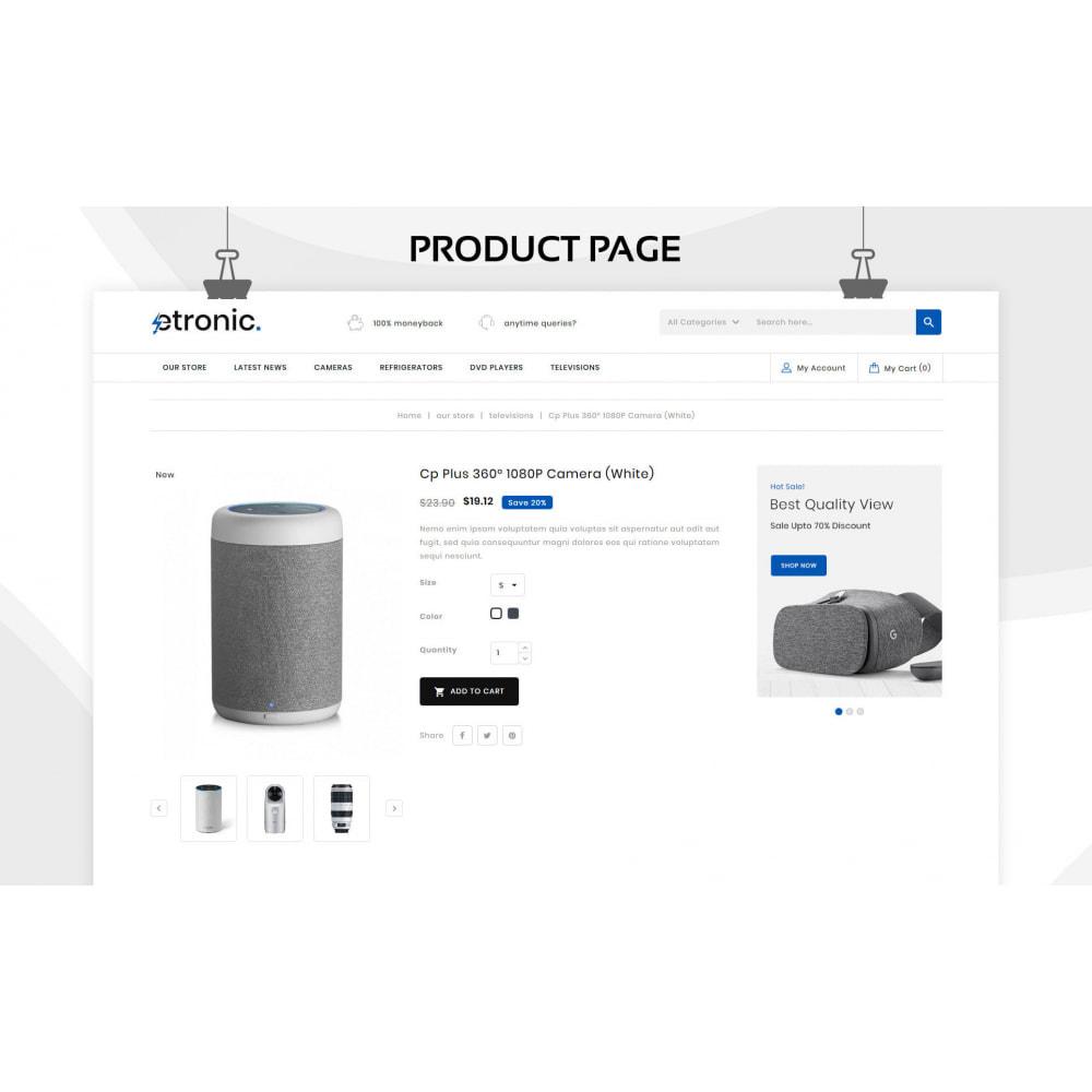 theme - Elettronica & High Tech - Etronic  - Il mega negozio di elettronica - 7
