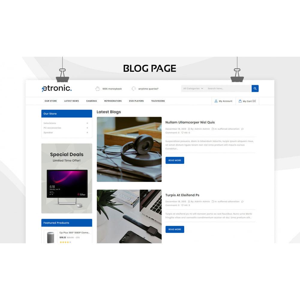 theme - Elettronica & High Tech - Etronic  - Il mega negozio di elettronica - 8