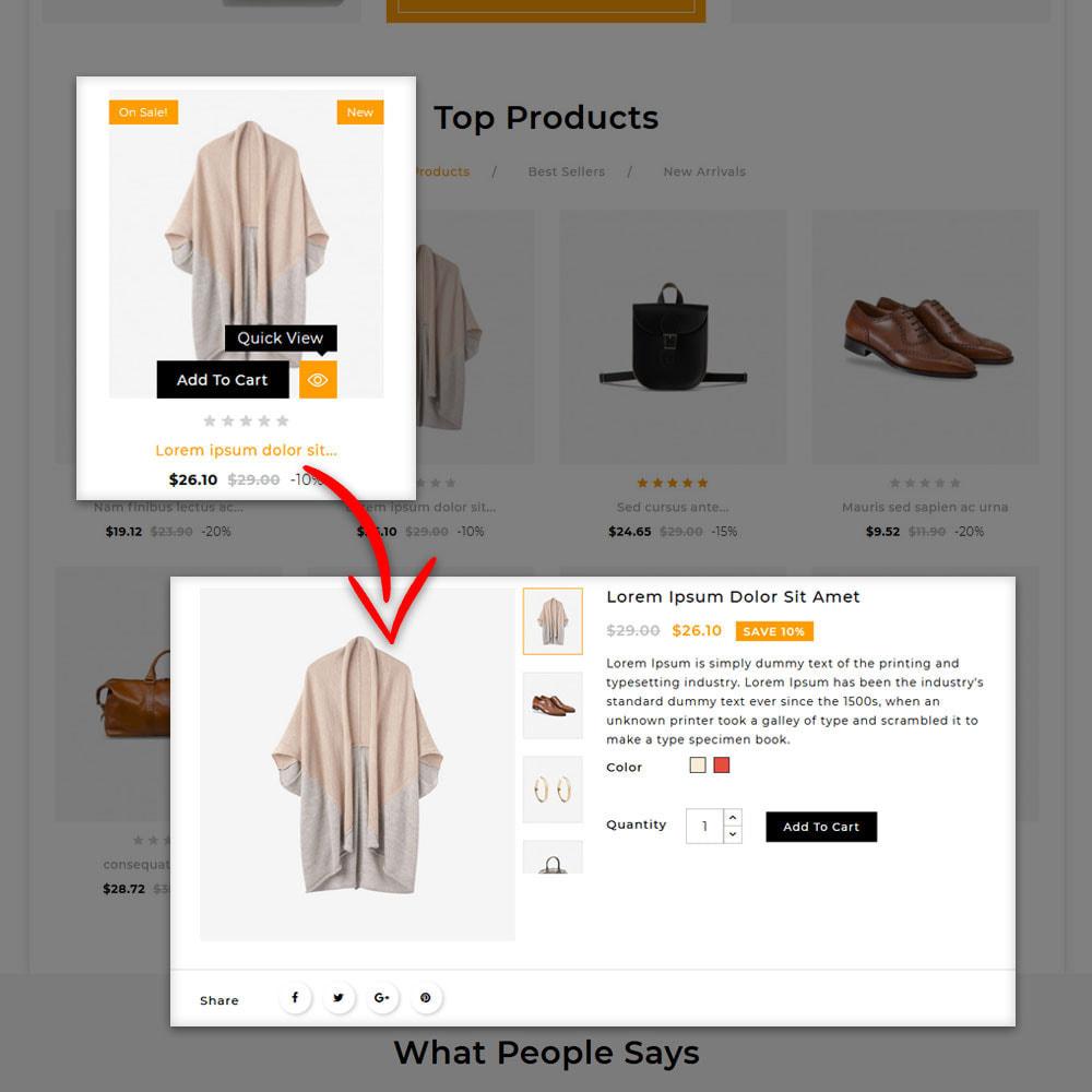 theme - Fashion & Shoes - Kenzy - Fashion Shop - 8