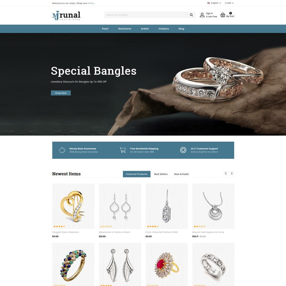 theme - Jewelry & Accessories - Mrunal - Jewellery Shop - 1