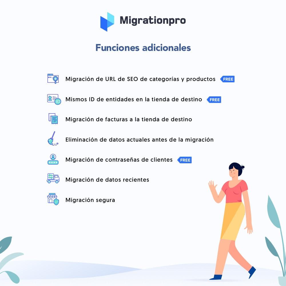 module - Migración y Copias de seguridad - Herramienta de migración de OpenCart a PrestaShop - 5