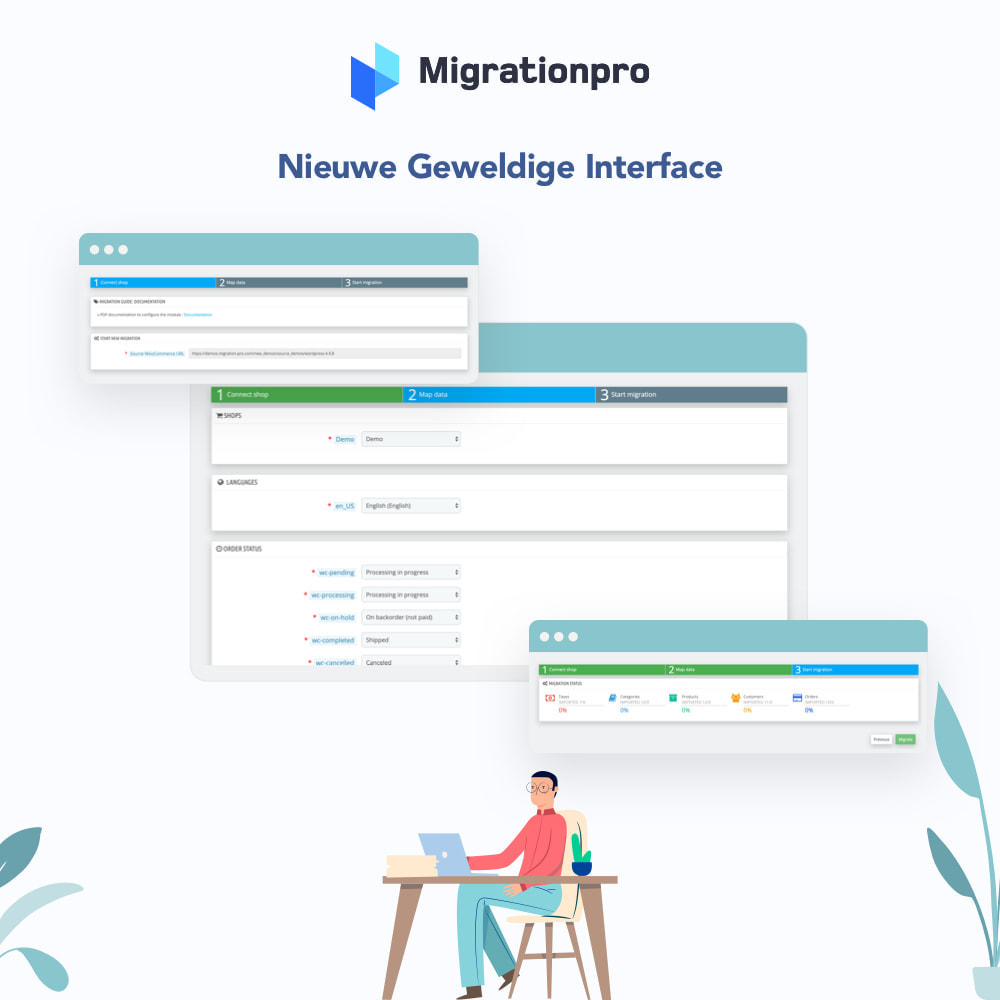 module - Migratie & Backup - OpenCart naar PrestaShop migratie tool - 6