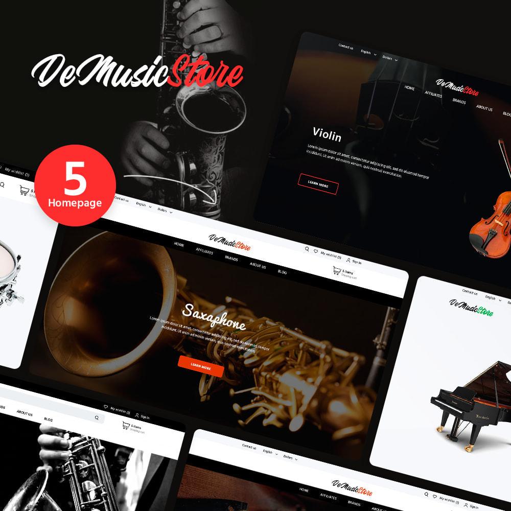 theme - Art & Culture - De Music Store - 1