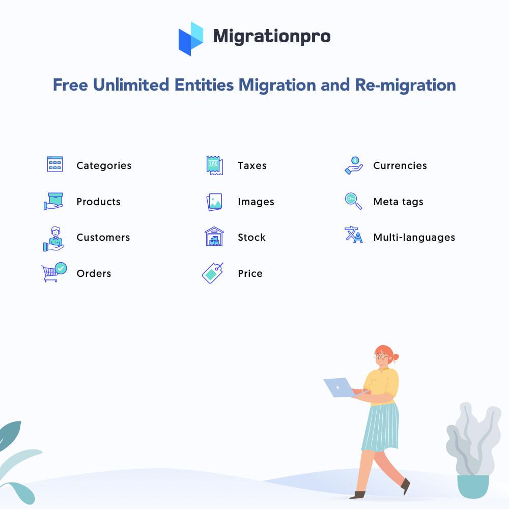module - Data migration & Backup - MigrationPro: Jumpseller to PrestaShop Migration Tool - 2