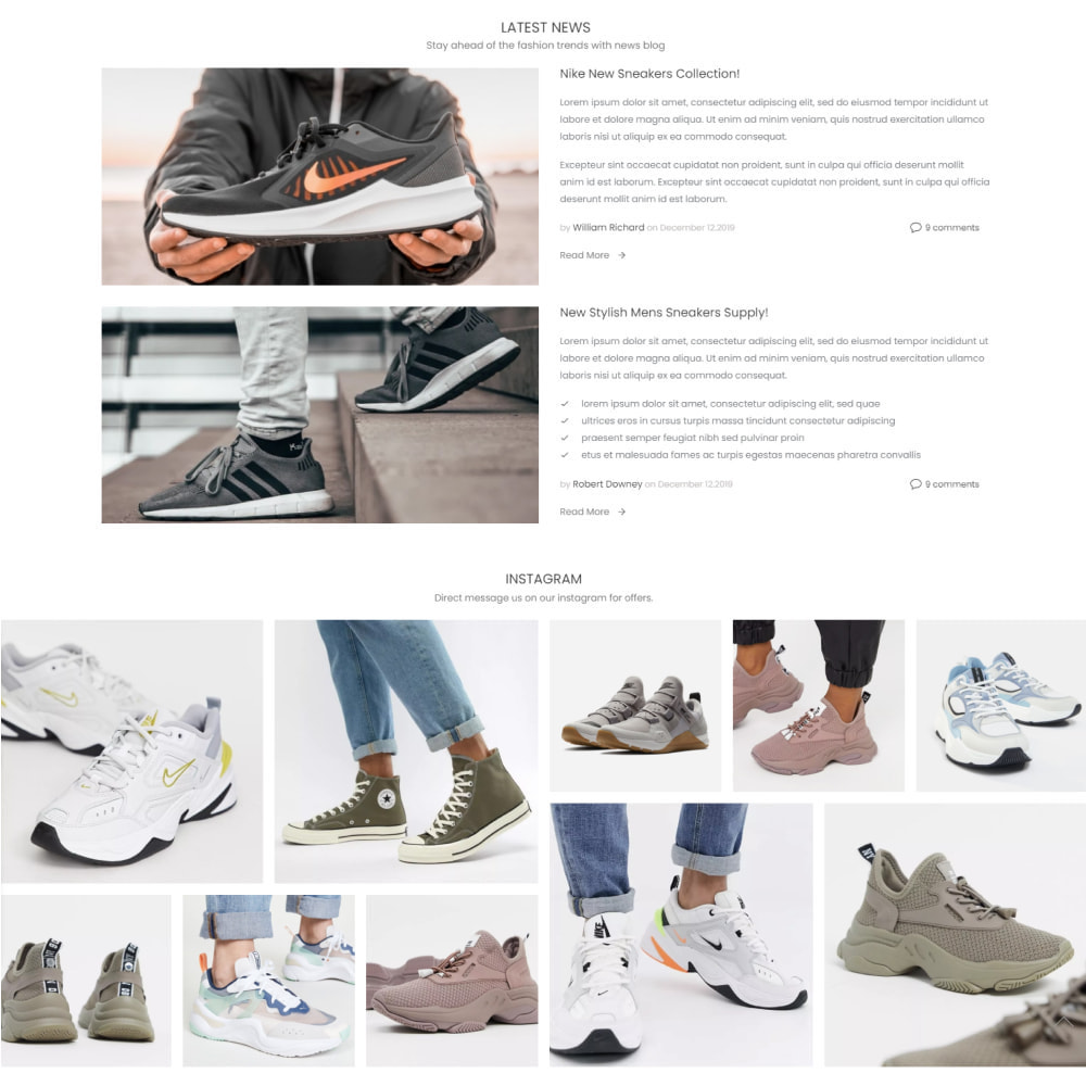 theme - Fashion & Shoes - New Step - Fashion & Shoes, Jewelry, Clothes, Bags - 4