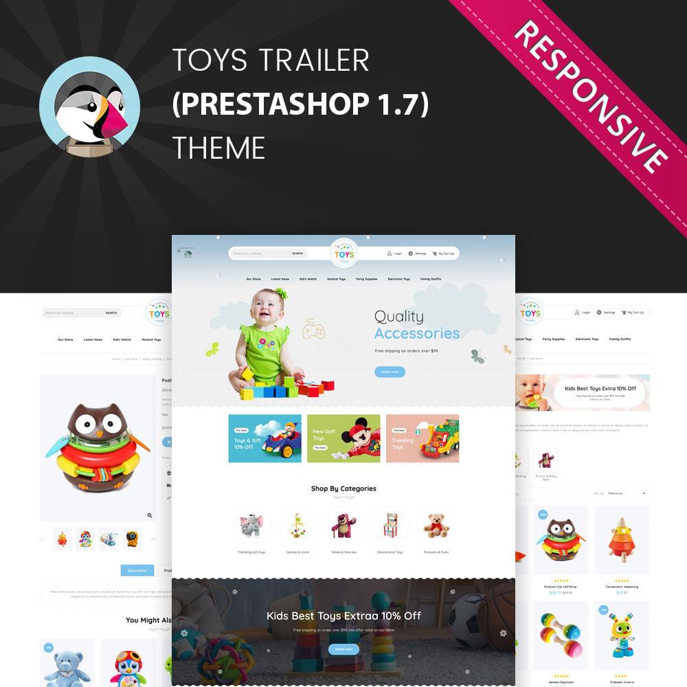 theme - Kids & Toys - Toystrailer - The Kid Store - 1