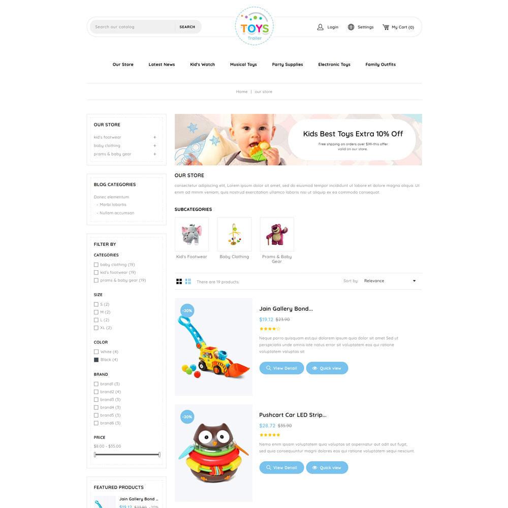 theme - Kids & Toys - Toystrailer - The Kid Store - 5