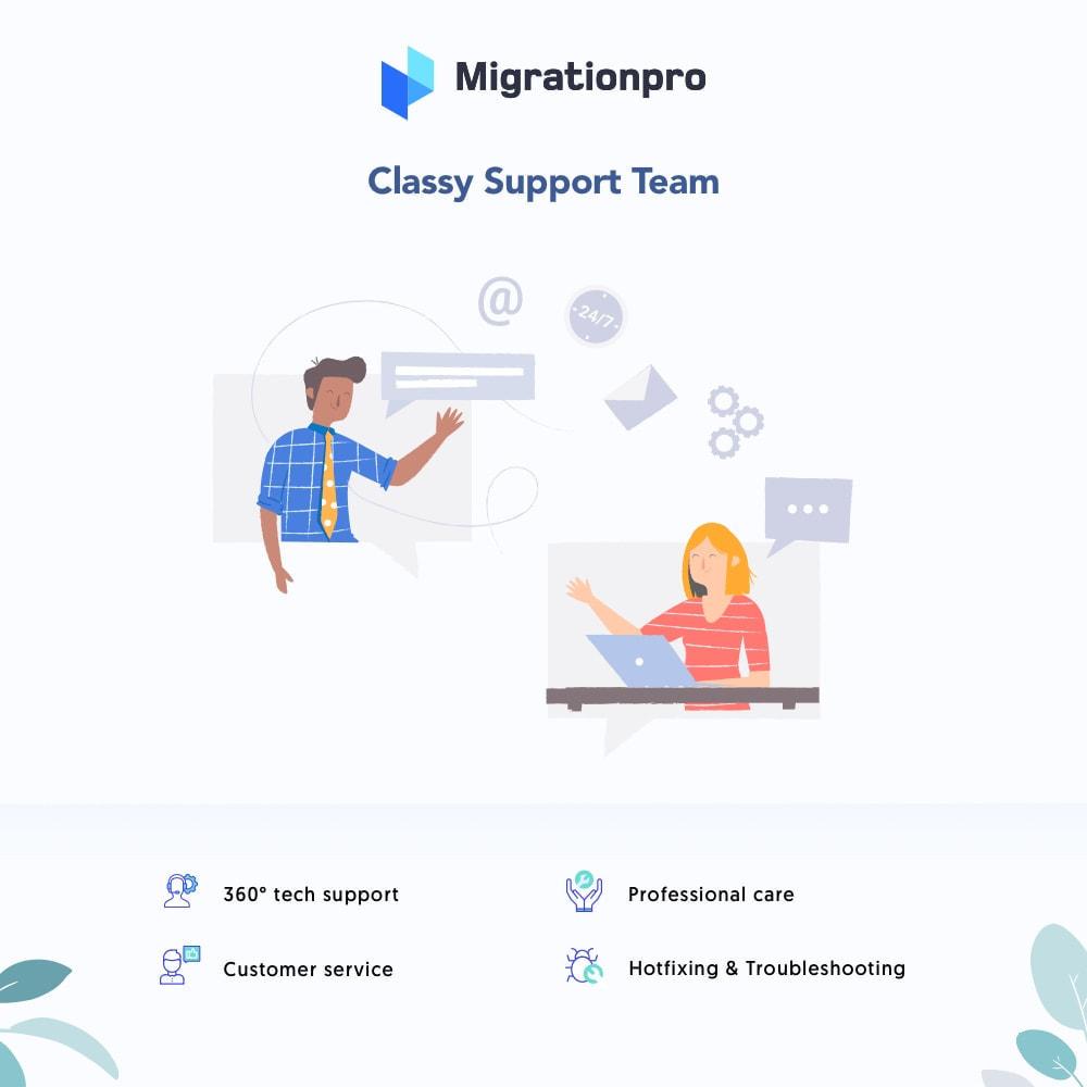 module - Migration de Données & Sauvegarde - MigrationPro: AbanteCart to PrestaShop Migration tool - 8