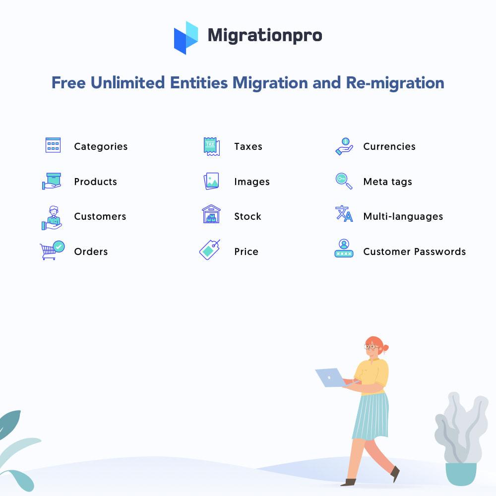 module - Migratie & Backup - MigrationPro: Ubercart to PrestaShop Migration Tool - 2