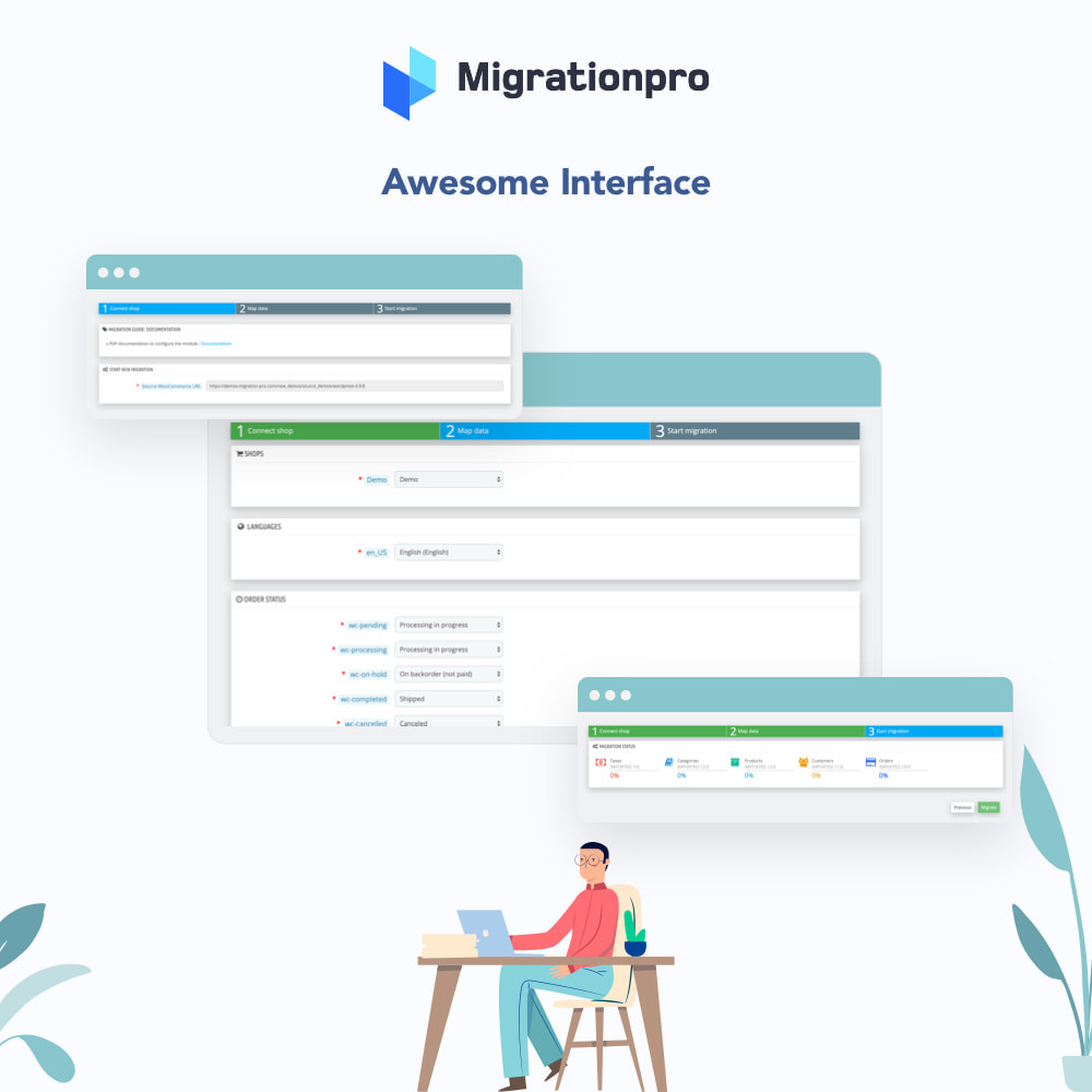module - Migratie & Backup - MigrationPro: Ubercart to PrestaShop Migration Tool - 6