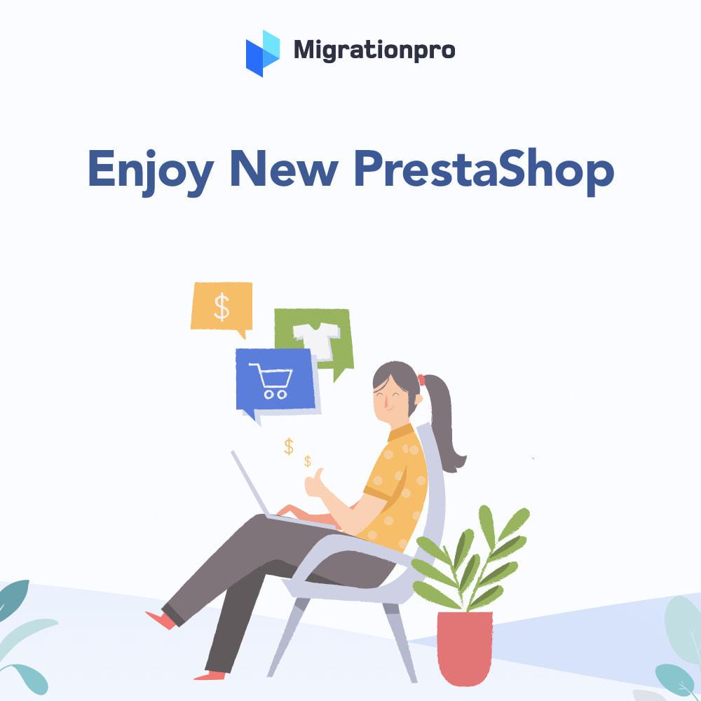 module - Migratie & Backup - MigrationPro: Ubercart to PrestaShop Migration Tool - 9