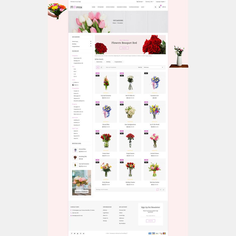 theme - Gifts, Flowers & Celebrations - Floreza Flower Store - 4