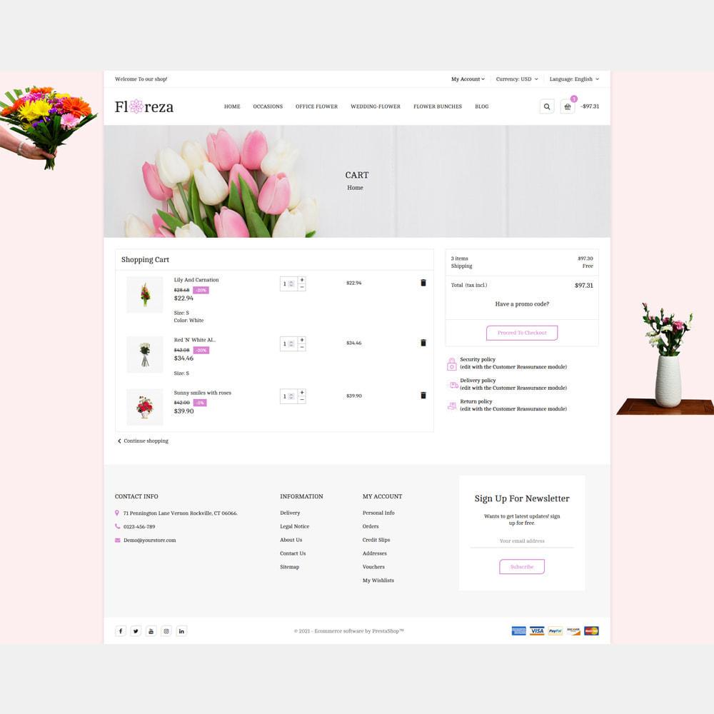 theme - Gifts, Flowers & Celebrations - Floreza Flower Store - 6