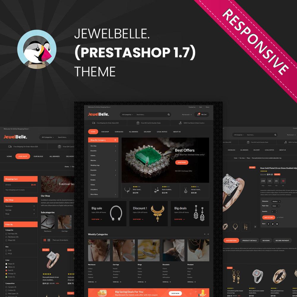 theme - Ювелирные изделия и Аксессуары - Jewelbelle - The Jewelry Store - 1
