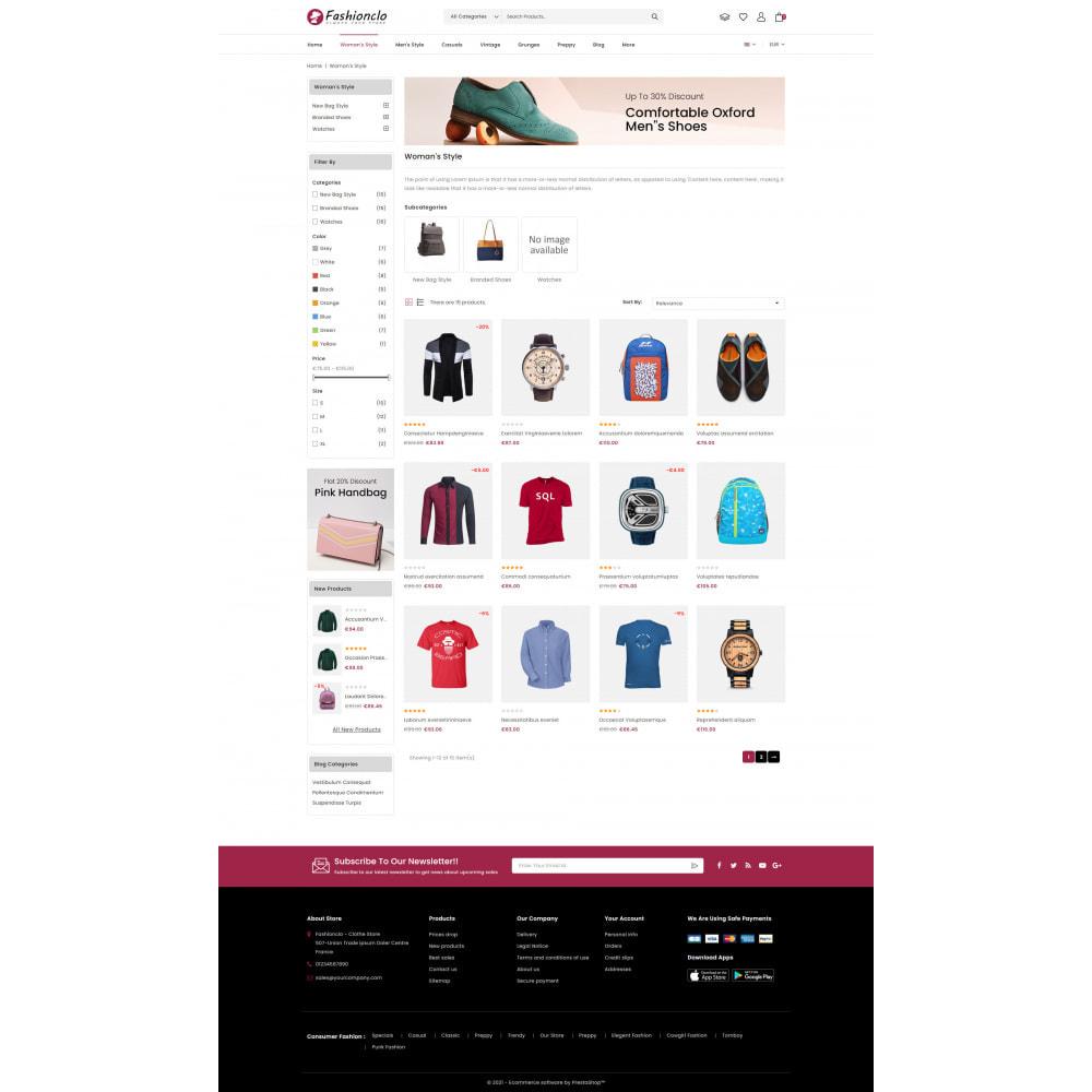 theme - Fashion & Shoes - Fashionclo - Minimal Fashion Store - 3