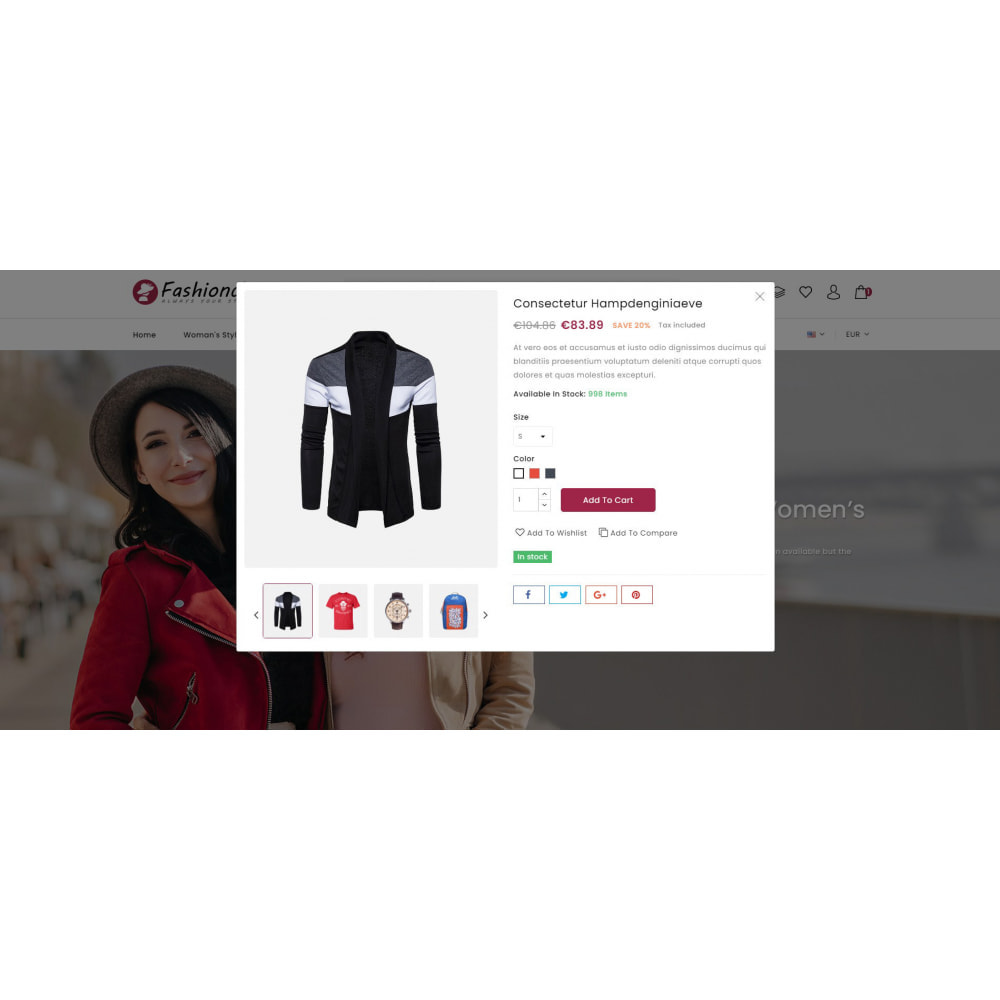 theme - Fashion & Shoes - Fashionclo - Minimal Fashion Store - 8